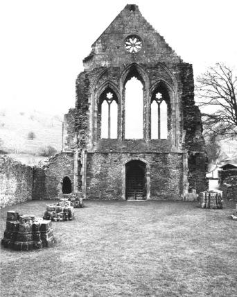 Valle Crucis Abbey;Abbey Church