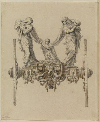 Design for an ornamental carriage