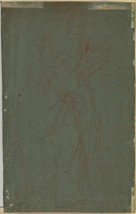 Study for a portrait of a lady (verso)
