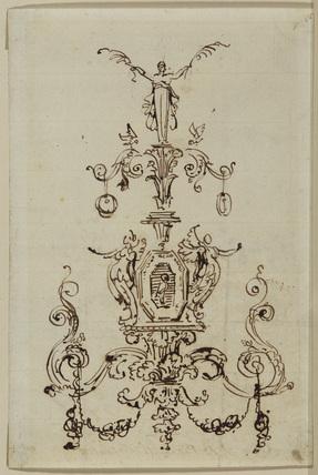 Decorative design (recto)