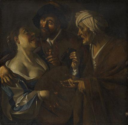 Procuress (after Dirck van Baburen)