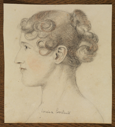 Portrait of Louisa Courtauld