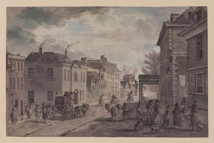 Street scene in Gloucester