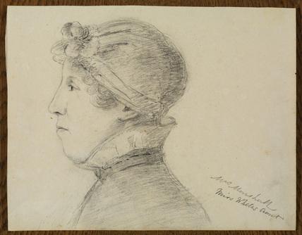 Portrait of Mrs Marshall, Mrs White's aunt