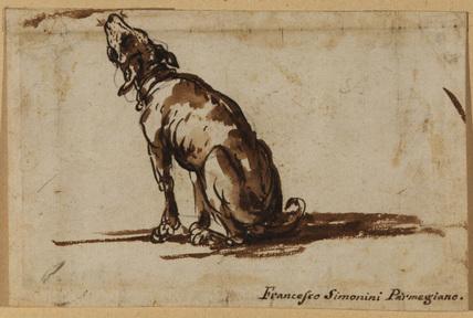 Howling dog