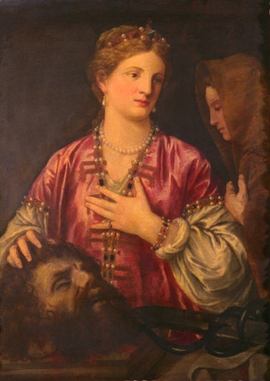 Judith and the head of Holofernes