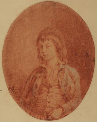 Half-length portrait of a boy