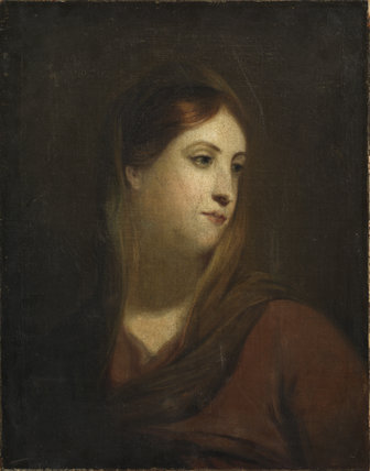 Sketch for a female head