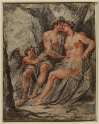 Mercury, Venus and Cupid (verso)