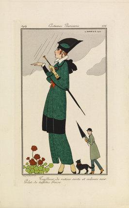Journal des Dames et des Modes, 1914, plate 156