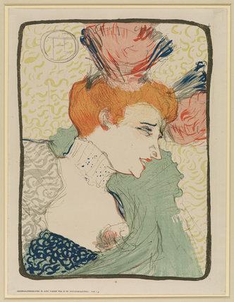 Bust of Mademoiselle Marcelle Lender