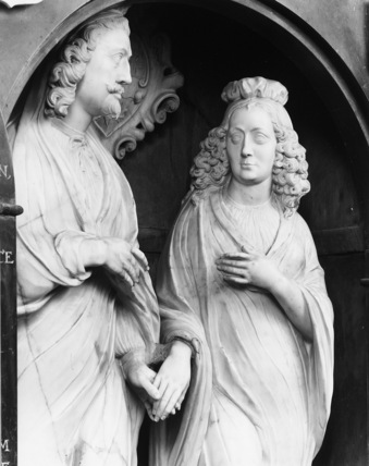 Monument to Edwars Noel, Viscount Campden and his wife