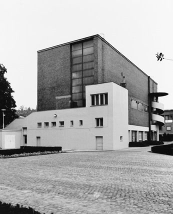Exhibition Site;Brno Pavilion for the 1928 Exhibition of Contemporary Culture