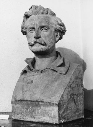 Bust of Francois Chifflart