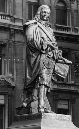 Statue of David Teniers