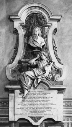 Santa Croce;Church of Santa Croce;Monument to Alessandro Galilei