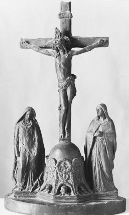 Model for the Calvary Group at Saint Vinccent de Paul