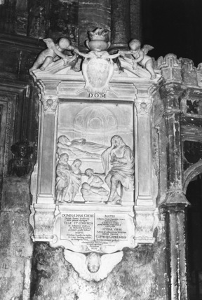 Westminster Abbey;Abbey Church;Monument to Jane, Lady Crewe