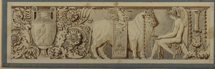 Design for an ornamental frieze