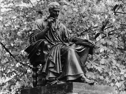 Statue of Jean Jacques Rousseau