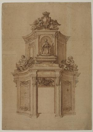 Design for a tomb to Doge Giovanni Cornaro