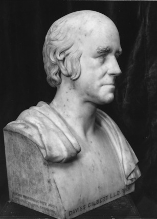 Bust of Davies Gilbert