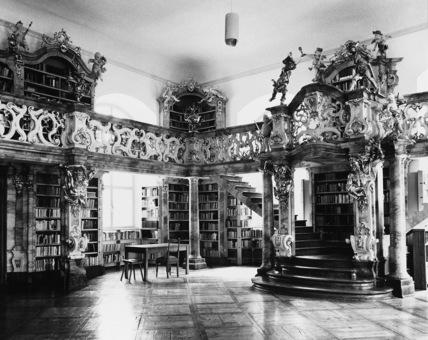 Cistercian Abbey;Library