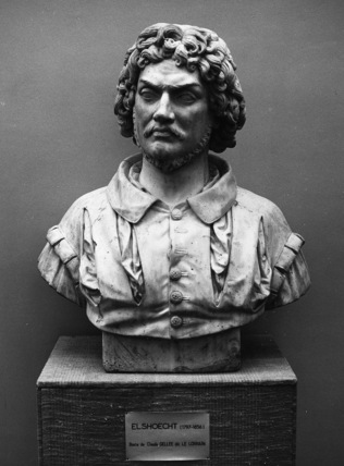 Bust of Claude Lorrain