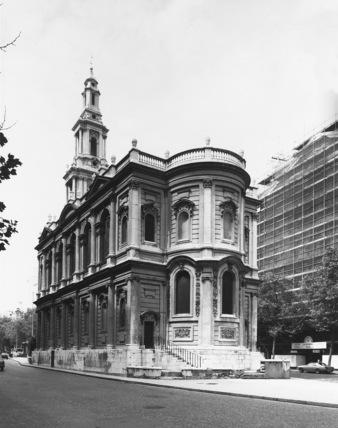Church of St Mary le Strand