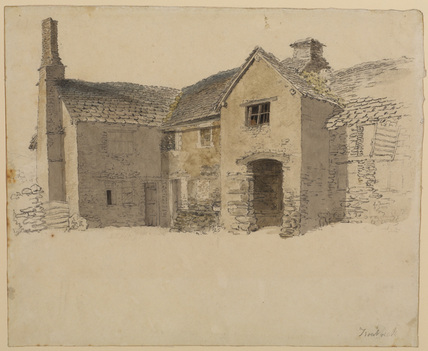 Farmhouse at Troutbeck, Cumberland