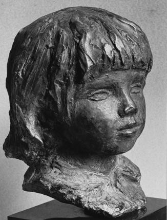 Head of Coco (Claude Renoir)