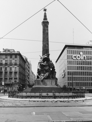 Monument for the Cinque Giornate Uprising