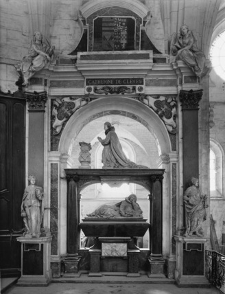 Monument to Catherine of Cleves, wife of Henri Duc de Guise