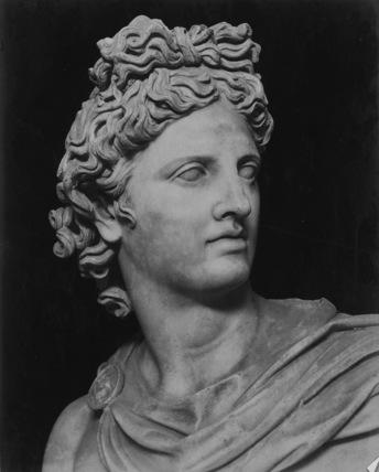 Apollo di Belvedere, Roman copy after Greek original of 4th century BC