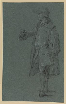 Standing figure of a man