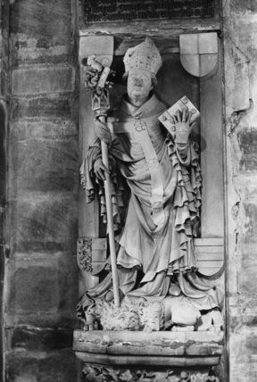 Bamberg Cathedral;Monument to Bishop Albert von Westheim