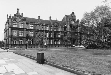 Salford University, Peel Building