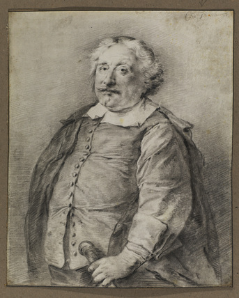 Half-length portrait of a man