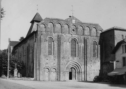 Abbaye de Cadouin;Abbey Church Notre-Dame de la Nativite
