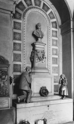 Campo Santo di Staglieno;Monument to Enrico Amerigo