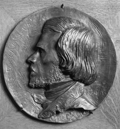 Medallion of Eugene Delacroix