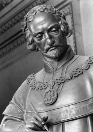 Statue of Bohuslav of Lobkovice and Hasisteyn