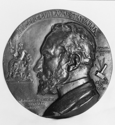 Medallion of Eugene Guillaume