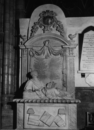 Westminster Abbey;Abbey Church;Monument to Dr Richard Busby