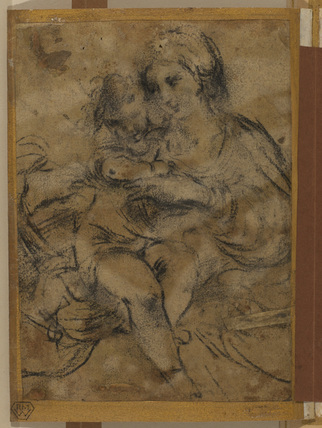 Virgin and Child (recto and verso)