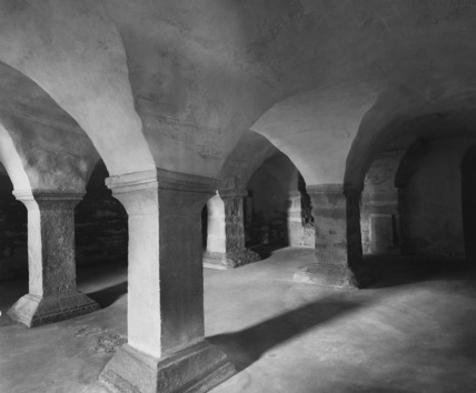Collegiate Church of St Cyriacus;Crypt