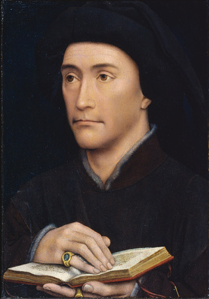 Portrait of a man - Guillaume Fillastre (?) (recto)