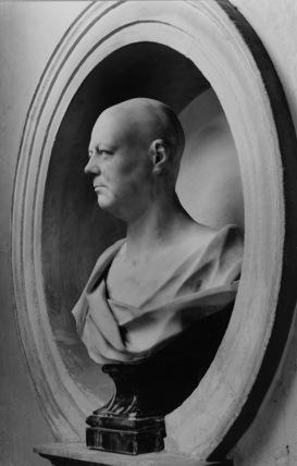 Bust of James Gibbs