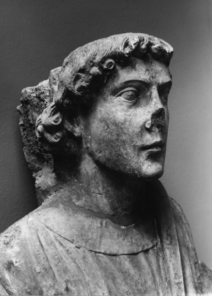unidentified statue
