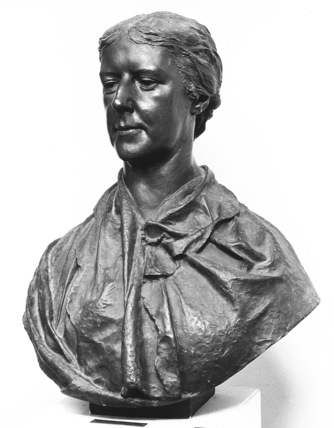 Bust of Mrs Leech
